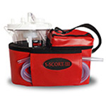 S-SCORT III Suction Unit, with Vinyl Case, Red