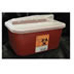 *Limited Quantity* Sharps Container, Stackable, 10inch x 7 Inch x 5inch, 1 Gallon