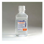 Sodium Chloride 0.9% Irrigation Solution, 500ml Pour Bottle