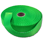Nylon Webbing, 1inch x 10 yard Roll, Neon Yellow