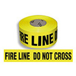 Fire Barrier Tape, Yellow