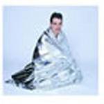 Rescue Blanket, Aluminized, 56inch x 84inch