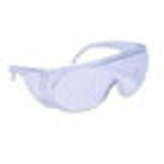 Visitor Glasses w/Clear Lens And Side shield, Disposable, Polycarbonate *Limited QTY*