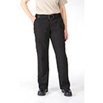 5.11 Women Cotton Tactical Pant, Black, 2/R