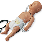 ALS Trainer Manikin, Full body, with Carry Bag, Pediatric