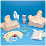 Central Venous Cannulation Simulator, Anatomically Correct, Swan-Ganz Catheter Use w/Hard Carry Case