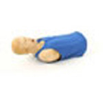 Choking Charlie Manikin, Adult Torso, for Heimlich Training, Carry Case