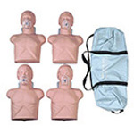 Economy Adult Sani-Manikin , 4 Pack w/Carry Bag