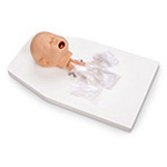Airway Mgmt Trainer, Infant, used on Laerdal Resusci Baby, Mounted on Stand, w/Carry Case