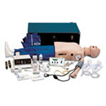 Life/form Deluxe Complete CRiSis Full Manikin, Handheld Arrhythmia Simulator, Airway Larry System