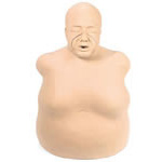 Life/form Bariatric CPR Manikin, Elderly and Overweight, White