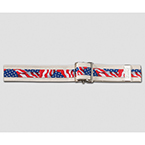 Posey Stars and Stripes Gait Belt, Standard