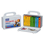 First Aid Kit, 10 Person, Plastic