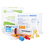 Curaplex IV Start Kit, Incl Kwik Klip, Sharps Dart, IV Guard Dressing, Prep pads, Specimen bag, Gauze and Tourniquet