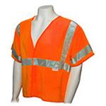 ANSI Class 3 Standard Safety Vest, XL/XXL, Orange *Discontinued*