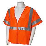 ANSI Class 3 Deluxe Safety Vest, XL/XXL, Orange *Discontinued*