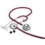 ADC Proscope Dualhead Stethoscope, Burgundy