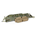 Med Sled Vertical Lift Rescue Sled, Olive Drab