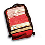 Zip Organizer Unit, Red