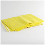 Roehampton Highway Blanket, Small, Poly-Tissue, 62inch x 84inch, Yellow