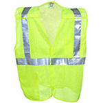 Safety Vest, Mesh Breakaway, LG/XL