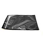Polybag, Black, 12inch x 6.75inch