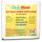 Cool Blaze Burn Dressing, 4inch x 4inch
