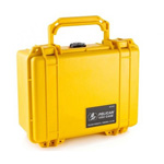 Pelican 1150 Case, No Foam, Yellow
