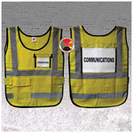 ICS Window Vest, Yellow