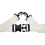 Backboard Straps, w/ Speedclips, for Pinned Backboards