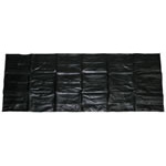 Body Bag, Heavy Duty, 25 Ga, 36inch x 90inch, Black
