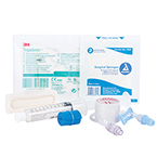 Curaplex IV Start Kit, Incl Transparent Dressing, ChloraPrep, Gauze, Tourniquet, Tape, Extension Set and Flush Syringe