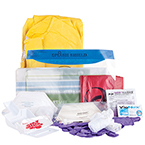 Curaplex Advanced Infection Control Kit w/Patient Belonging Bag, XL