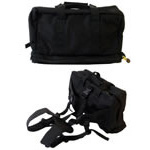 First Responder Waist Pack w/o Contents, 4inch x 17inch x 11inch, Black