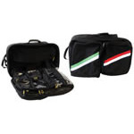 Airway/Trauma Backpack w/o Contents, 21inch x 15inch x 12inch, Black w/Green and Red Stripe