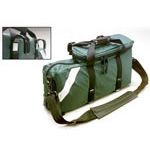 Oxygen/Ventilator Carry Bag, 22inch L x 4 1/2inch W x 11inch D, Green, D Size