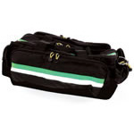Airway Bag, 27inch L x 14inch H x 12inch W, Black w/Green Stripe