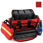 Large Advanced Life Support Case, 22inch L x 14inch W x 11inch H, w/Modules, Red