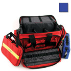 Large Advanced Life Support Case, 22inch L x 14inch W x 11inch H, w/o Modules, Red