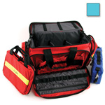 Large Advanced Life Support Case, 22inch L x 14inch W x 11inch H, w/o Modules, Teal
