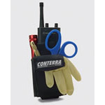Trauma Pro EMS/Radio Holster, Empty, Black,