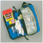 IV Admin Module w/Sharps Container, Royal Blue