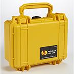Pelican 1120 Case, 7.25inch x 4.75inch x 3.06inch, Yellow w/Pick N Pluck Foam