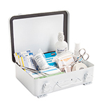Curaplex First Aid Truck Kit, In Metal Case