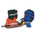 MCI Kit, contains 6 Heavy Duty Nylon Vests, Triage Belt