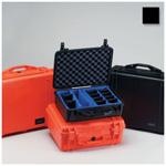 Pelican 1500 Case, 16.75inch x 11.18inch x 6.12inch, Black w/Pick N Pluck Foam