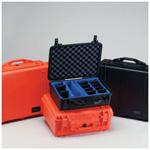Pelican 1550 Case, 18.43inch x 14.00inch x 7.62inch, Black w/o Foam