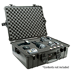 Pelican 1600 Case, 21.51in x 16.54in x 7.99in (54.6 x 42 x 20.3 cm) , Black w/Pick N Pluck Foam
