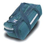 Basic O-2 Bag, First Response Only, Holds D or Jumbo D Bottle, 22inch x 10? inch x 8inch, Green