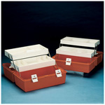 Flambeau Model 1872 Medical Box, 17 5/8inch L x 10 1/4inch W x 8 3/4inch D